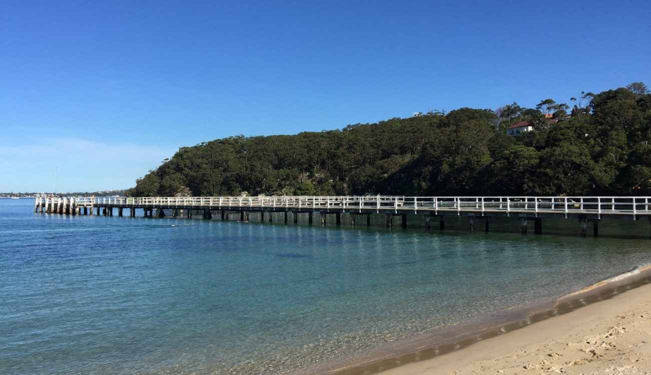 Calm overview of the jetty in Chowder
