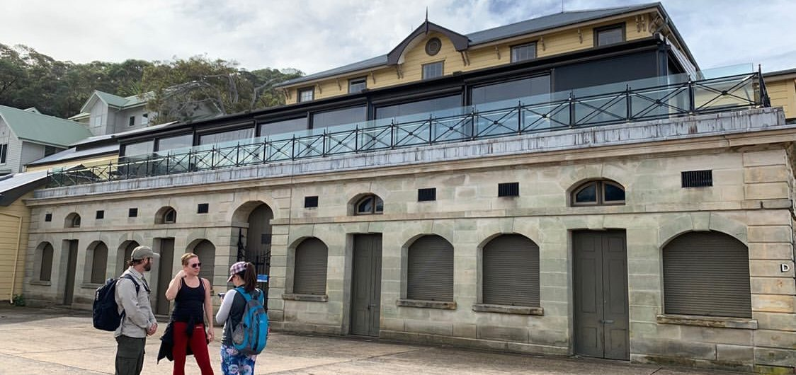 Heritage building in Chowder Bay, Mosman